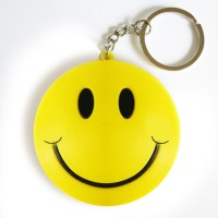 Funrally Smiley Key Chain: Carabiner