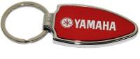 Aura Yamaha Bike Full Metal Imported Locking Keychain (Red, White)