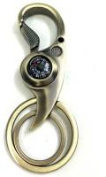 Turban Toys Metallic Double Ring Keychain Keychain (Gold)
