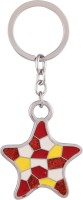 JLT Metal Twinkleing Star Locking Key Chain (Multicolor)