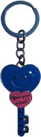 Surplus Bazar Cute Heart Shape Key Chain (Blue)