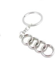 Ezone Full Metal Audi Metallic Ring Carabiner (Silver)