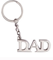 Confident MVP290 Metal Silver DAD Key Chain (Silver)