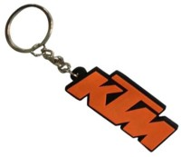 TAG3 KTM Bike Silicon Beautiful Logo Key Chain Carabiner (Red)