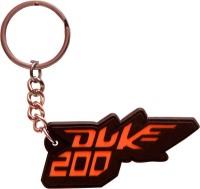Chainz KTM Duke 200 Keychain (Multicolor)