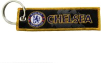 Techpro Doublesided Cloth Chelsea Key Chain (Multi Color)