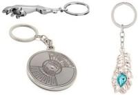 CTW Jaguar Omg Metal & Callender Combo Keychain (Silver)