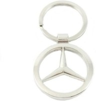 Ezone Full Metal Mercedes Benz Elegant Key Chain (Silver)