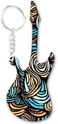 Lolprint 182 Pattern Guitar Key Chain