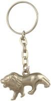 CTW Loin Silver Metal Keychain Key Chain (Silver)