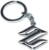 24x7shop Maruti Suzuki Cars Heavy Metal Imported Key Chain (Silver)