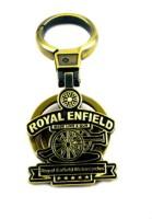 Spotdeal SDL637 Royal Enfield Full Metal Keychain Locking Carabiner (grey)
