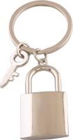 JLT Lock And Key Key Chain (Silver)