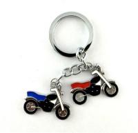 S2S Bike Metal Key Chain (Silver)
