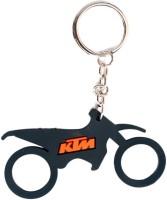 Chainz Ktm Motocross Silicon Keychain (Multicolor)