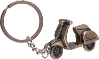 Oyedeal Antique Vespa Scooter Full Metal Key Chain (Gold)