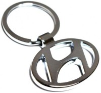 Prime Traders Hyundai Emblem Car Logo Locking Key Chain (Black)