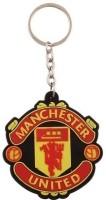 Mooz Manchester United Football Club Silicone Key Chain (Multicolor)