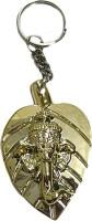 DCS Ganesha Key Chain Locking Key Chain (Multicolor)