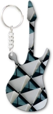 Lolprint 66 Pattern Guitar Key Chain
