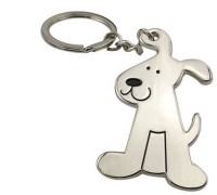 Chainz Metal Pet Doggy Keychain (Silver)
