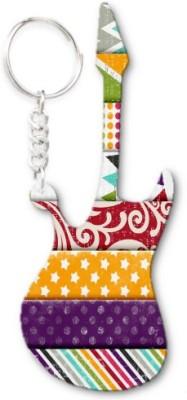 Lolprint 70 Pattern Guitar Key Chain