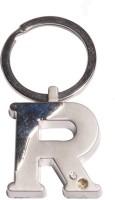 True Traders True Traders Silver Metal Alphabet R Keychain Key Chain (silver)