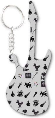 Lolprint 159 Pattern Guitar Key Chain