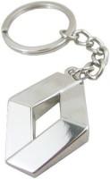 Easy4buy Renault Car,Bike,Bag Locking Spring Gate Key Chain (Silver)