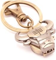 VeeVi Classy Bull Pocket Watch Keychain Locking (Multicolor)
