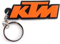 Techpro Singlesided KTM Logo Key Chain (Multi Color)