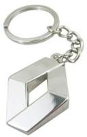 Navkaaar Ranault Metal Keychain Key Chain (silver)