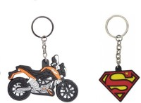 Chainz KTM Bike Shaped And Superman Silicon (Multicolor)