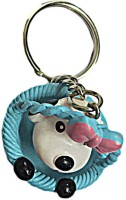 DCS Cute Dog Keychain(Blue) Locking Carabiner (Multicolor)