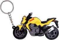 Oyedeal KYCN744 Bike Shape Kawasaki Keychain (Multicolor)
