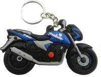 Techpro Pulsar Bike Model Key Chain (Multi Color)
