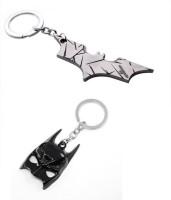 Chainz Batman Silver Cutout And Batman 3d Mask Metal (Silver, Black)