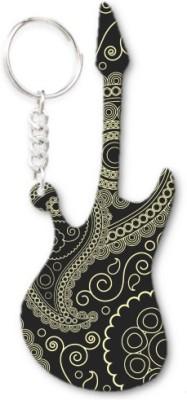 Lolprint 212 Pattern Guitar Key Chain