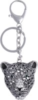 Super Drool Eyed Cheetah Key Chain (Silver)