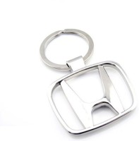 Ezone Full Metalic Beat Car Honda Key Chain (Silver)