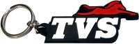 Techpro Single Sided TVS Key Chain (Multi Color)