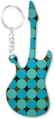 Lolprint 328 Pattern Guitar Key Chain