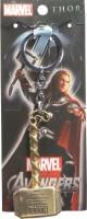 Oyedeal Avengers Thor Hammer Full Metal Key Chain (Gold)