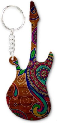 Lolprint 294 Pattern Guitar Key Chain