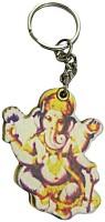 DCS Lord God Ganesha Keychain Locking Carabiner (Multicolor)