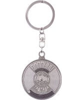 Confident 01 50 Year Silver Metal Key Chain (Silver)