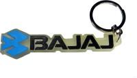 Techpro Singlesided Soft Bajaj Key Chain (Multi Color)