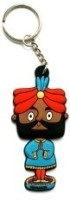 Chumbak Bobby the Bobble Head Key Chain Multicolor