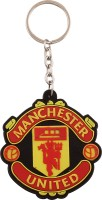 JLT Manchester United Football Club Silicone Key Chain (Multicolor)