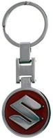 Techpro Suzuki Red Metal Key Chain (Multi Color)